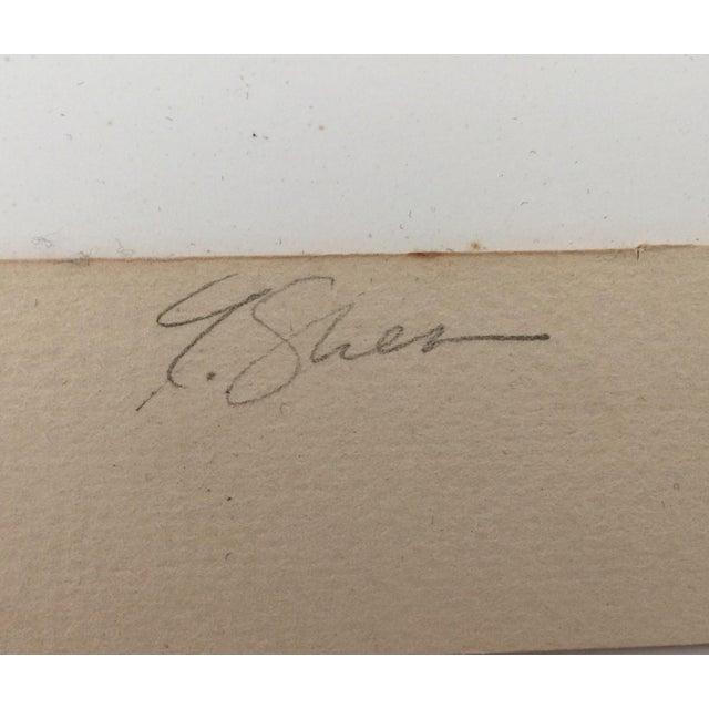 White Modernist Framed Photograph For Sale - Image 8 of 8