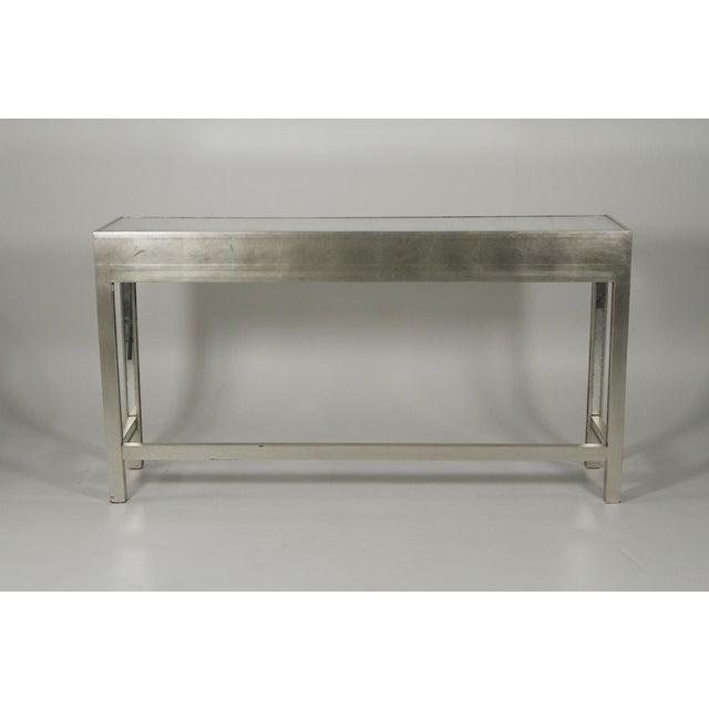 Art Deco 20th Century Art Deco John Richard Mirrored Modern Console Table For Sale - Image 3 of 10