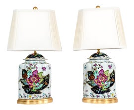 Image of Giltwood Table Lamps