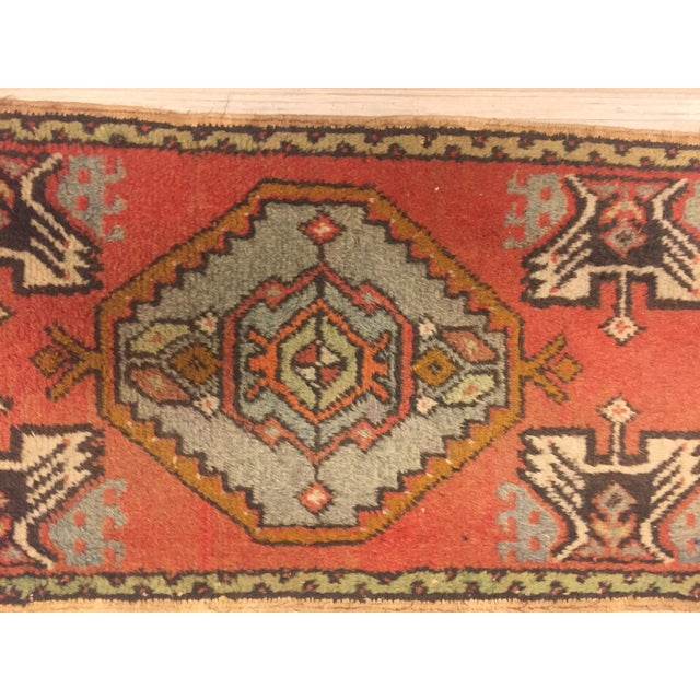 "Anatolian Tribal Handmade Carpet - 1'7"" x 3' - Image 2 of 6"