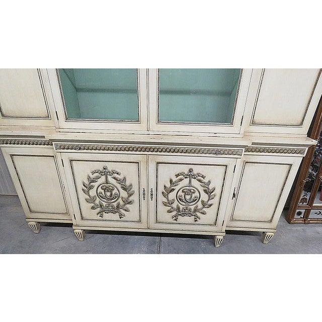 Hollywood Regency Regency Style Secretary Desk For Sale - Image 3 of 13