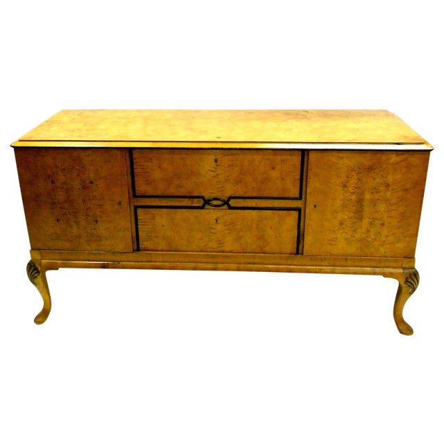 1880s Danish Birch Credenza/Buffet - Image 1 of 7