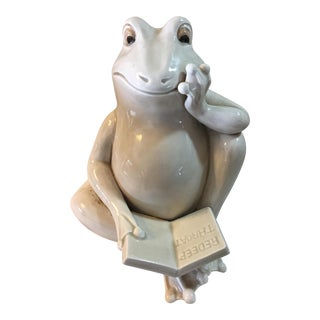Ceramic Fitz & Floyd Frog For Sale