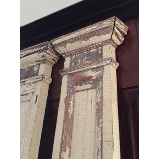 Antique Decorative Architectural Columns - Pair - Image 7 of 9