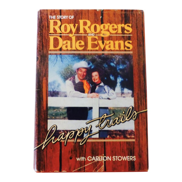 """Roy Rogers and Dale Evans' """"Happy Trails"""" 1979 Book, Signed - Image 1 of 10"""