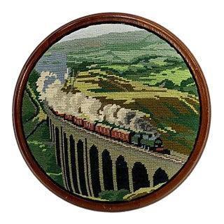 C. 1900 English Railroad Footstool For Sale