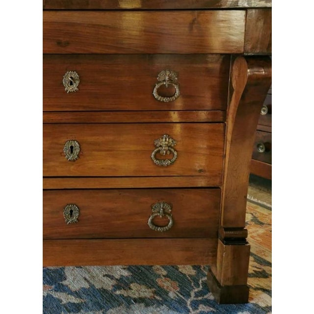 French French Walnut Chest of Drawers For Sale - Image 3 of 13
