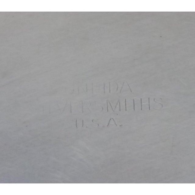 Oneida Silver Cutout Wine Plate - Image 8 of 10