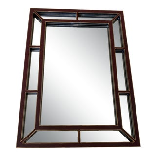 Baker Modern Chinoiserie Wall Mirror For Sale