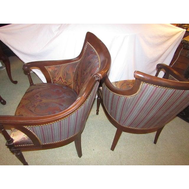 Regency Side Chairs - Pair - Image 6 of 6