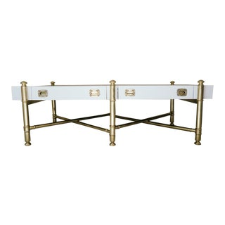 Drexel Heritage Style X-Base Coffee Table
