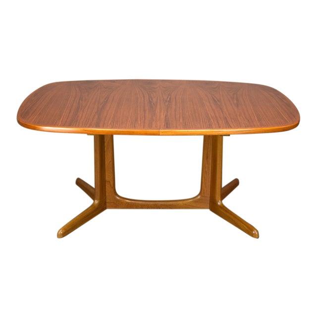 N.O. Moller / Gudme Danish Teak Dining Table For Sale