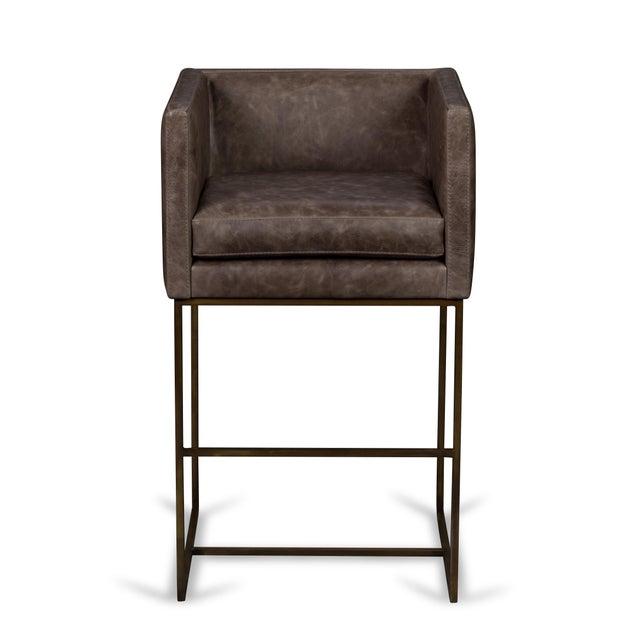 Elite Leather Premier Barstool - Image 2 of 3