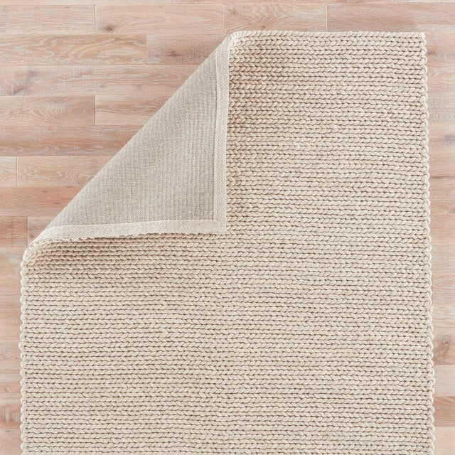 Jaipur Living Braiden Handmade Solid Gray Area Rug - 2′ × 3′ For Sale - Image 4 of 6