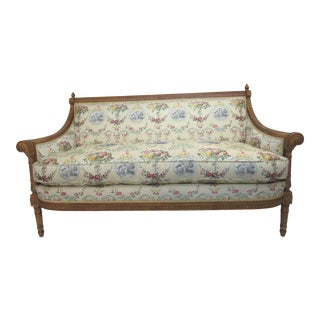 Louis XV French Style Settee Sofa For Sale