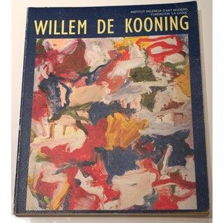 Willem De Kooning Book, Institut Valencia d'Art Modern For Sale