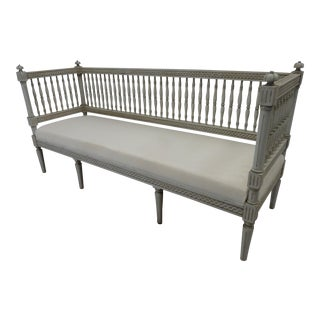 Swedish Gustavian Sofa For Sale