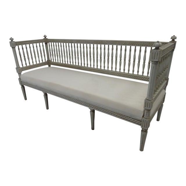 Swedish Gustavian Sofa - Image 1 of 5