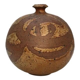 Midcentury Ceramic Pottery Vase For Sale