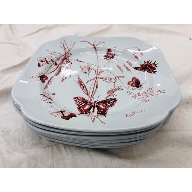 Vintage Set Cecil Beaton Spode Plates For Sale In Raleigh - Image 6 of 7