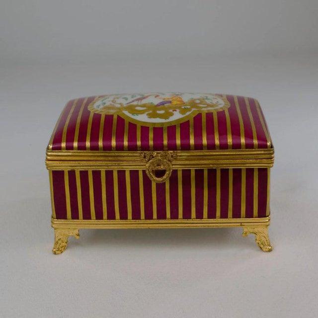 Ceramic Atelier LeTallec Laque de Chine Porcelain Box For Sale - Image 7 of 12
