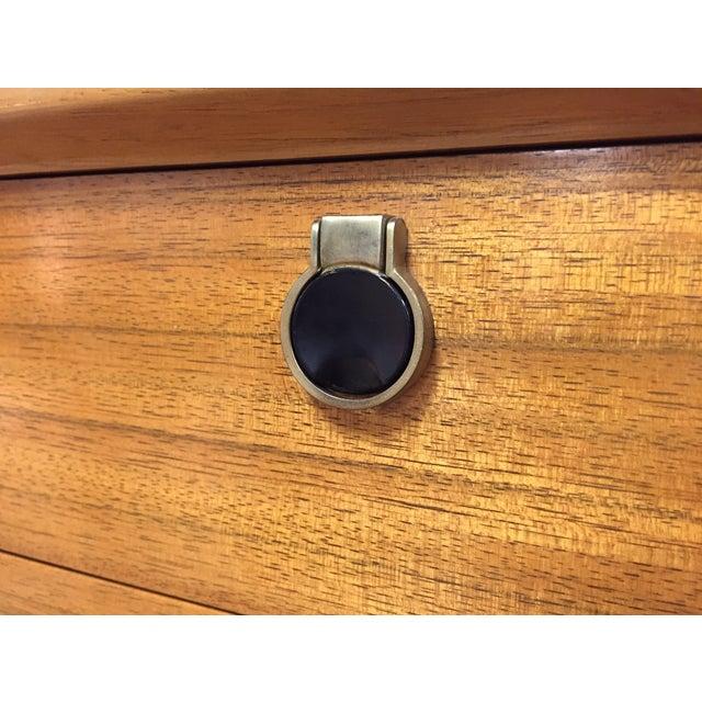 Zebra Wood and Brass 12 Drawer Dresser - Image 9 of 11