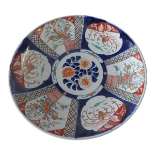 19th Century Japanese Imari Charger For Sale