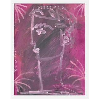 "Medium ""Valens"" Print by Leslie Weaver, 19"" X 24"" For Sale"