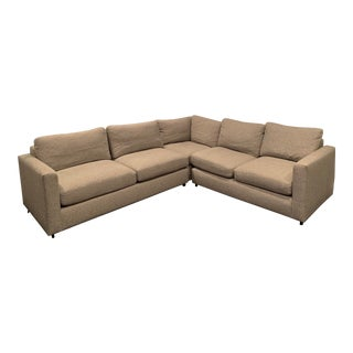 Modern Room and Board Sectional Sofa For Sale