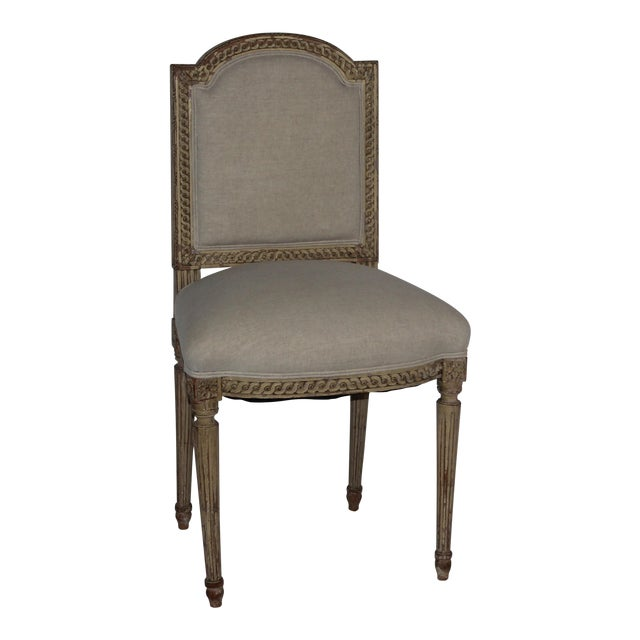 Louis XVI Style Accent Chair - Image 1 of 6