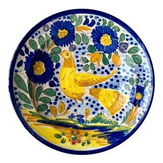 Antique Moorish Islamic Hand-Painted Bowl For Sale