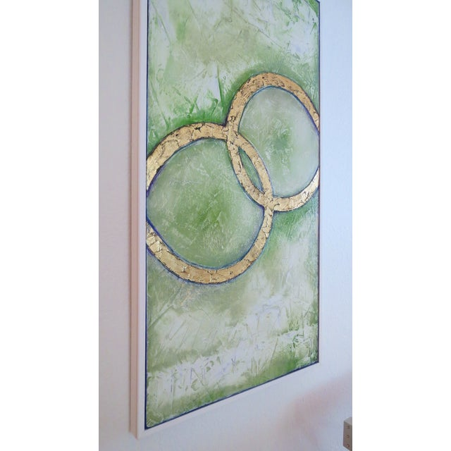 Framed Infinity Series Mixed Media Painting - Image 3 of 5