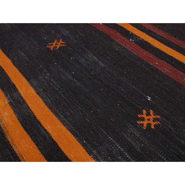 Two-Panel Kilim with Stripes For Sale In New York - Image 6 of 9