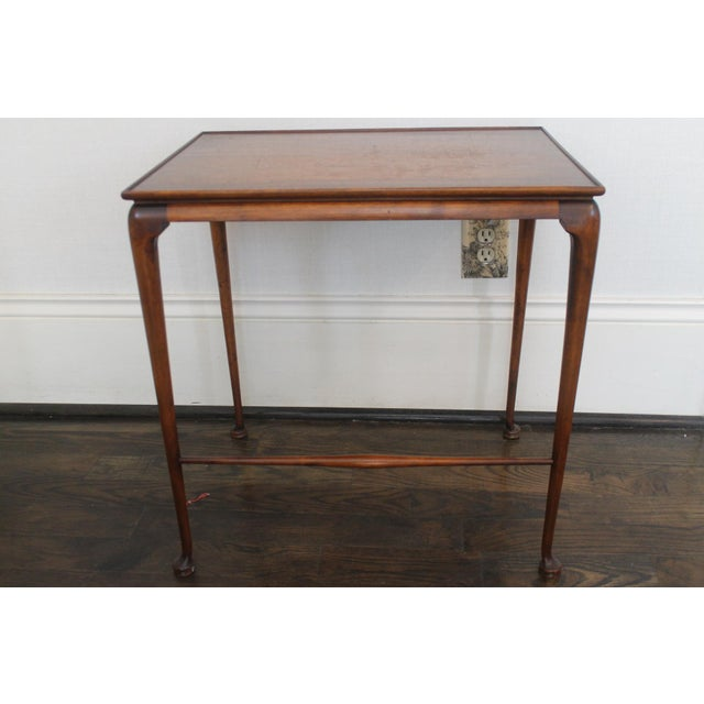 Wood 19th Century English Nesting Tables - Set of 3 For Sale - Image 7 of 13