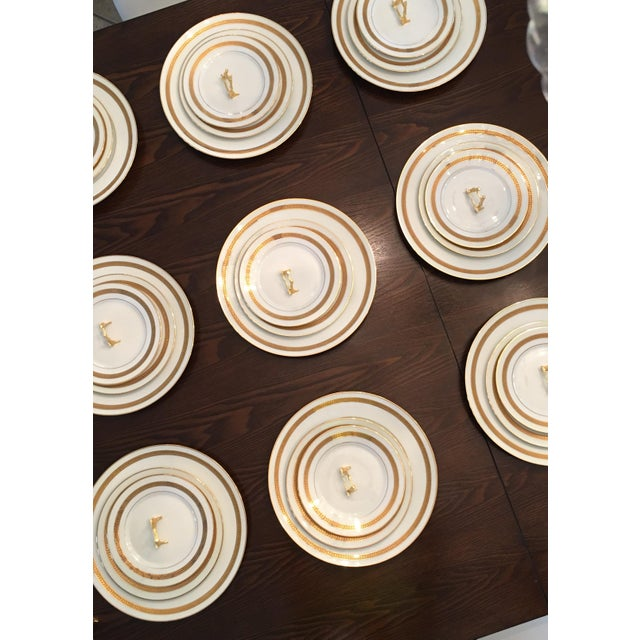 1960s Dynamic Vintage China Dinnerware - Set of 9 For Sale - Image 5 of 6