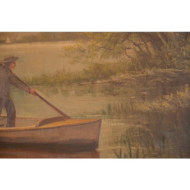 Antique Seascape Portait Painting For Sale In New York - Image 6 of 12