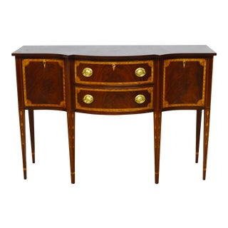 Councill Mahogany Inlaid Sideboard For Sale