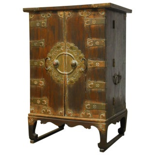 Korean Secrétaire Cabinet Chest