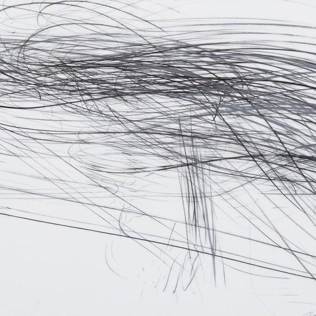 "Abstract Jaanika Peerna ""Storm Series Horizontal 40"" Drawing For Sale - Image 3 of 4"