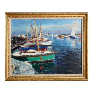 Dimitrie Berea, Cannes, 1962, Painting For Sale