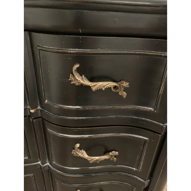 2000 - 2009 Williams-Sonoma Exclusive French Ebony Dresser For Sale - Image 5 of 9