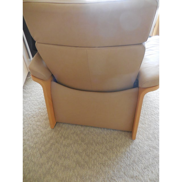 Ekornes ASA Stressless Leather Reclining Chair - Image 4 of 6