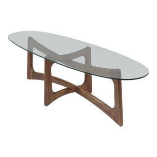 1960s Mid-Century Modern Adrian Pearsall for Craft Associates Coffee Table For Sale