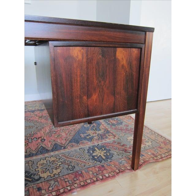 Torbjorn Afdal Mid-Century Rosewood Desk - Image 7 of 11