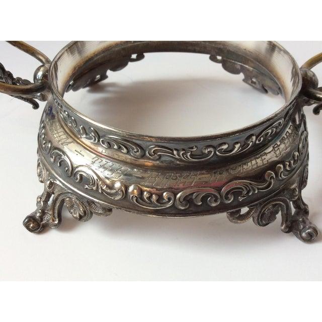 Wilcox Silver Victorian Brides Basket - Image 9 of 10