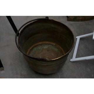 19th Century American Brass Cauldron Preview