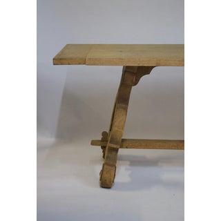 Antique Trestle Table Preview