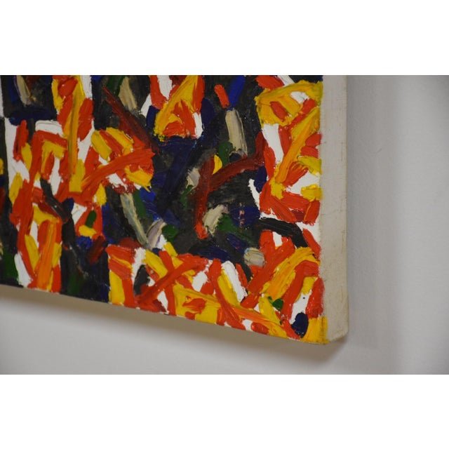 Hans Jorgen Henriksen Danish Abstract Painting For Sale In Boston - Image 6 of 8