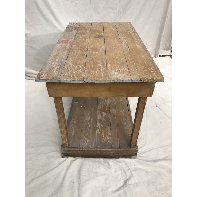 Early 20th Century Antique Southern Primitive Work Tables - a Pair For Sale - Image 5 of 13
