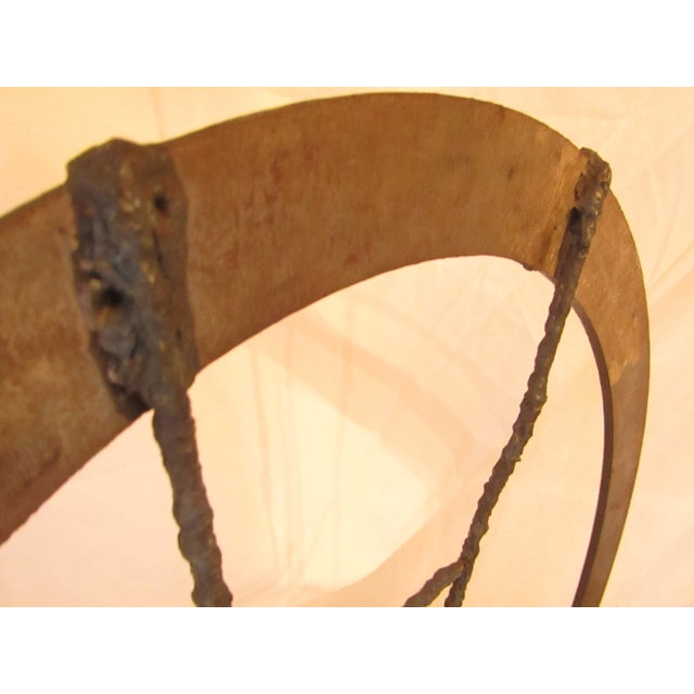 Large Hand Crafted Art Swing Sculpture - Image 4 of 6